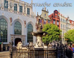 Gdańsk Rejestr Zastawów