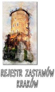 Kraków Rejestr Zastawów