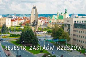 Rejestr Zastawów Rzeszów